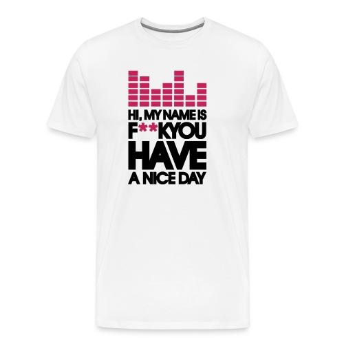 Good Morning - Camiseta premium hombre