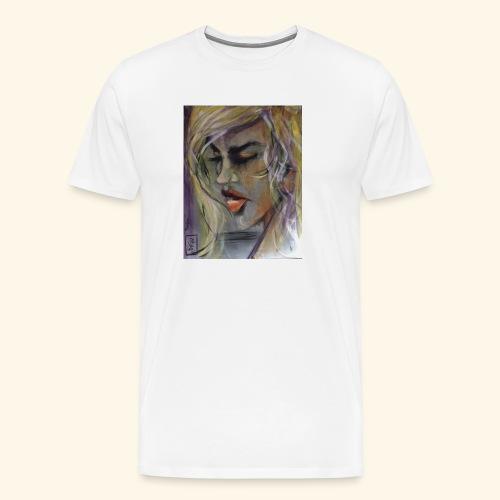 20160831 070257000 iOS Tänker - Premium-T-shirt herr