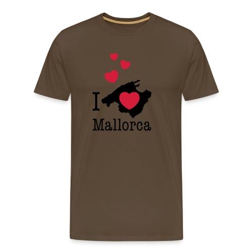 love Mallorca Balearen Spanien Ferieninsel Urlaub - Men's Premium T-Shirt