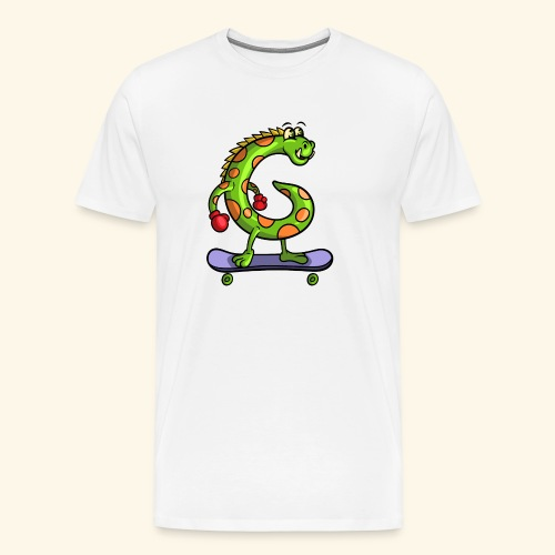 gmonster v 3 0 - Mannen Premium T-shirt