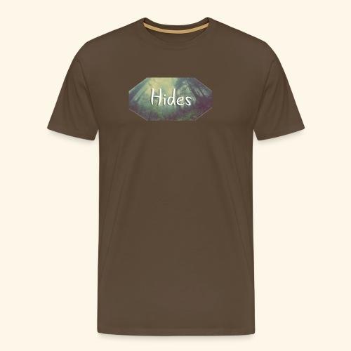 Hides t shirt or hoodie skog png - Premium T-skjorte for menn