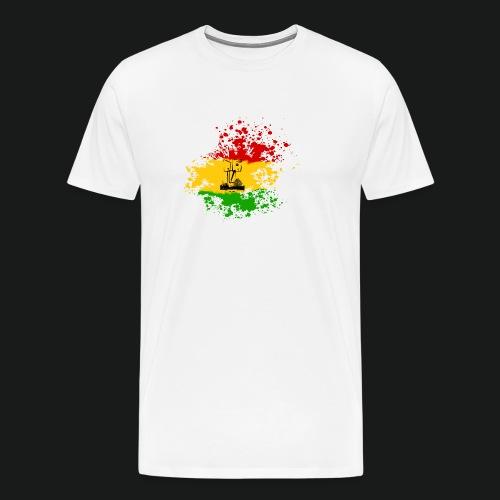 dc_10_logo_rastanew_passe - Männer Premium T-Shirt