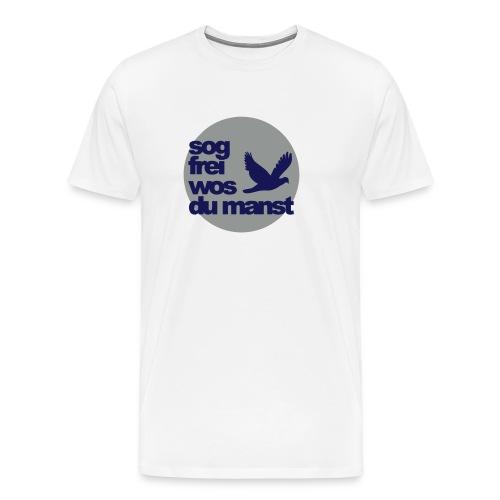 sunseitnIcontsogfreiwosdu - Männer Premium T-Shirt