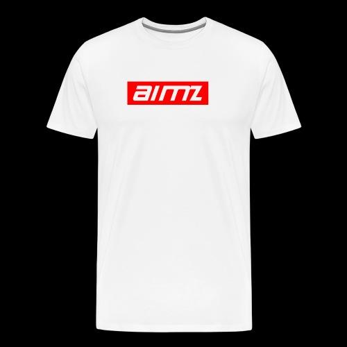 Aimz roter Stil - Männer Premium T-Shirt