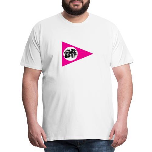 Mijn Broer Was Van de Verkeerde Kant – Gekkies - Mannen Premium T-shirt