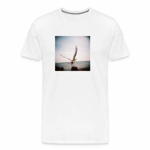 Original Artist design * Seagull - Men's Premium T-Shirt