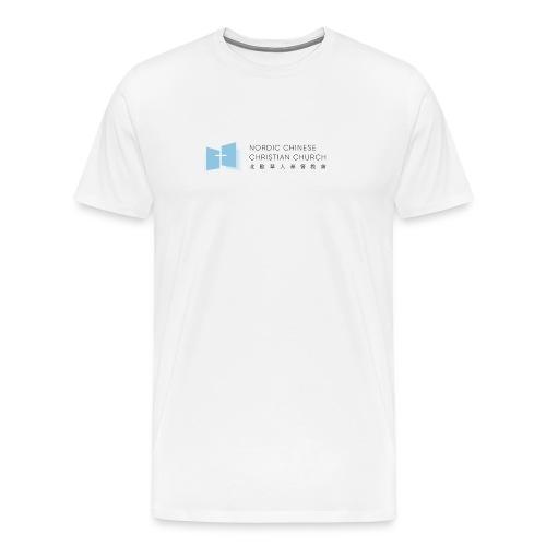 NCCC - Premium-T-shirt herr