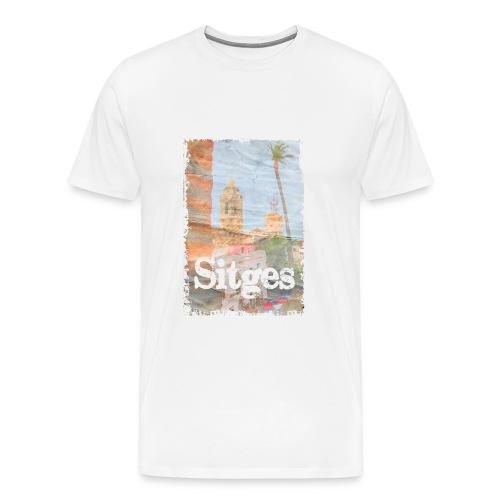 sitges palm - Camiseta premium hombre