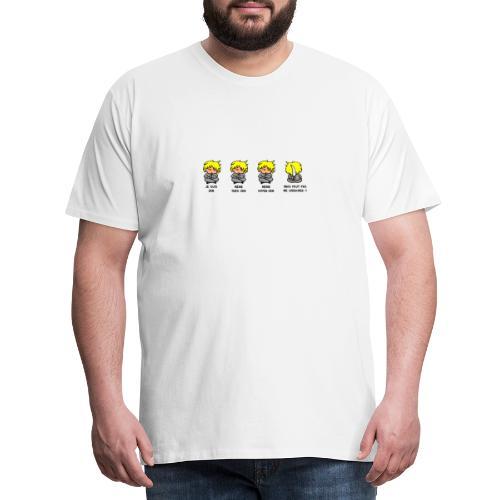 Je suis Zen mais faut pas me chercher - T-shirt Premium Homme