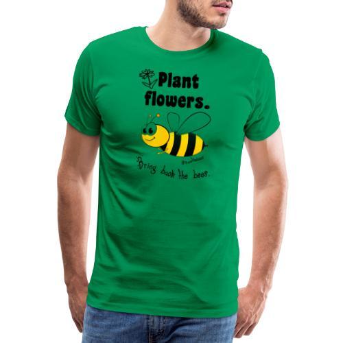 Bees8-2 Bringt die Bienen zurück!   Bookrebels - Men's Premium T-Shirt