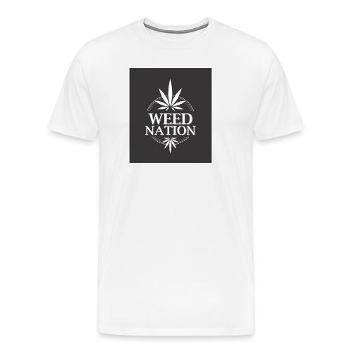 weed nation - Männer Premium T-Shirt