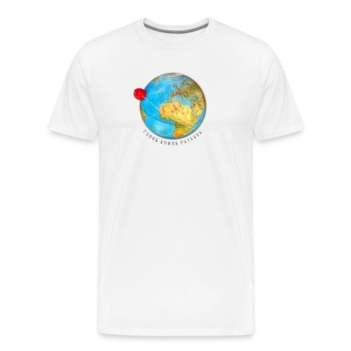 planeta-payaso-europa - Camiseta premium hombre