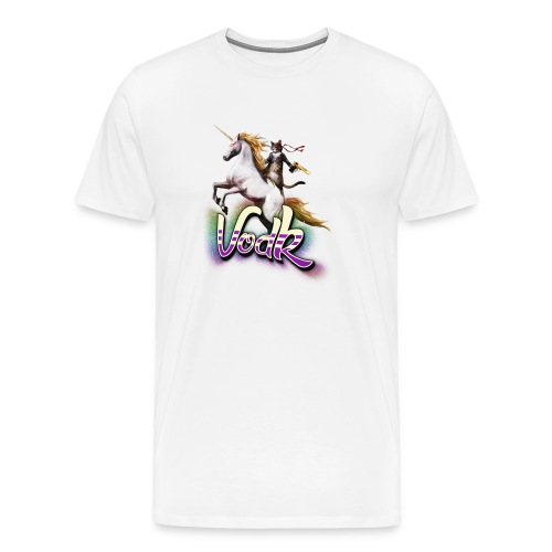 VodK licorne png - T-shirt Premium Homme
