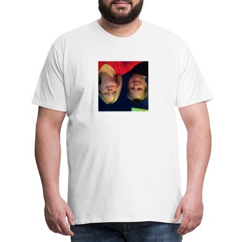 Gammelt logo - Herre premium T-shirt