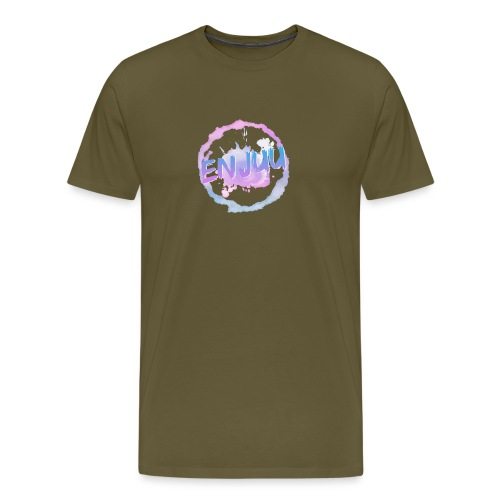 Enjuu Circleart - Männer Premium T-Shirt