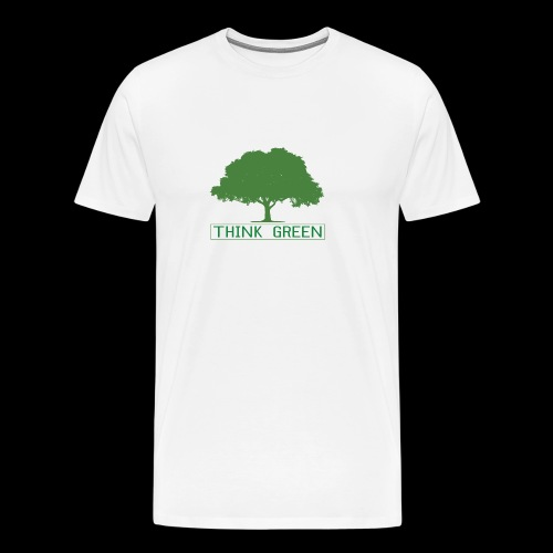 think green - Camiseta premium hombre