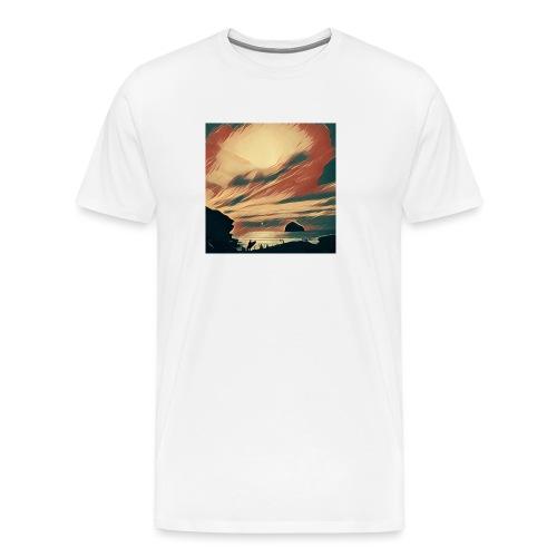 Cornwall Beach - Men's Premium T-Shirt