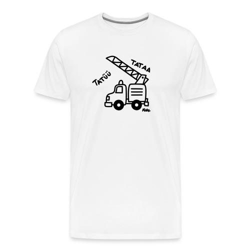 Feuerwehrwagen Tatü Tata - Männer Premium T-Shirt