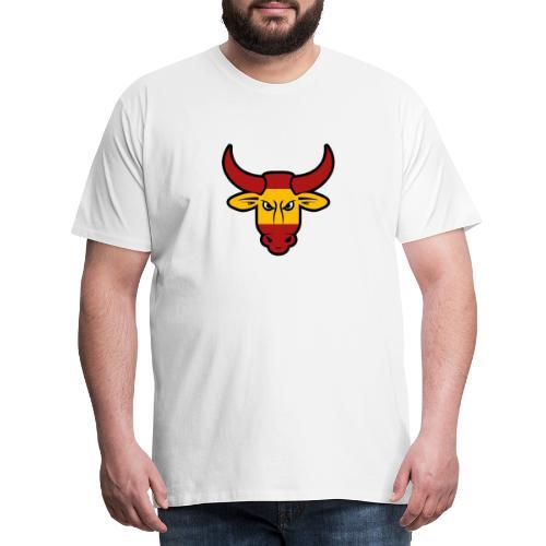 Toro Face - Camiseta premium hombre