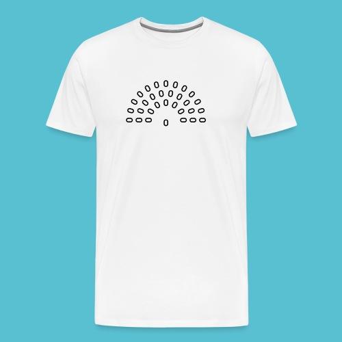 ocrhetser (weiss) - Männer Premium T-Shirt