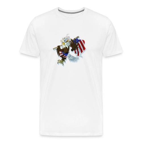 eaglenuggets transparent copy png - Men's Premium T-Shirt