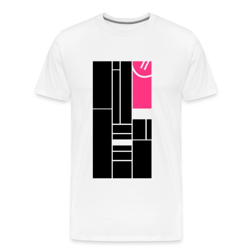 Verstecktes Lächeln - Männer Premium T-Shirt