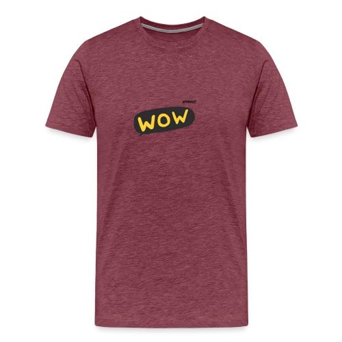 WoW Shirt - Men's Premium T-Shirt