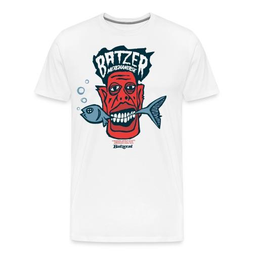 Batzer Vis - Mannen Premium T-shirt