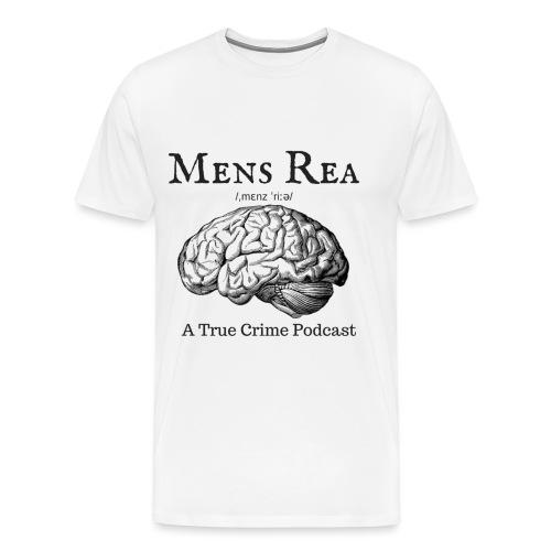 Guilty Mind Mens rea Logo - Men's Premium T-Shirt
