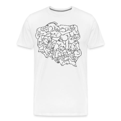 Kotowództwa - Koszulka męska Premium