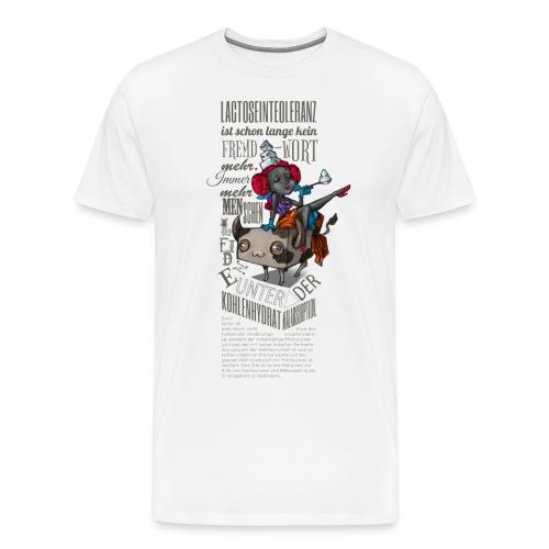 Lactosel und Ina Toleranza - Männer Premium T-Shirt