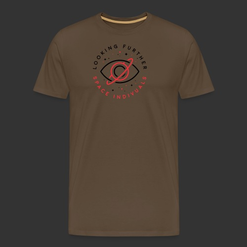 Space Individuals - Looking Further White - Men's Premium T-Shirt