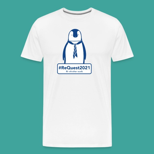 Kent Scouts #ReQuest2021 Antarctica Expedition - Men's Premium T-Shirt