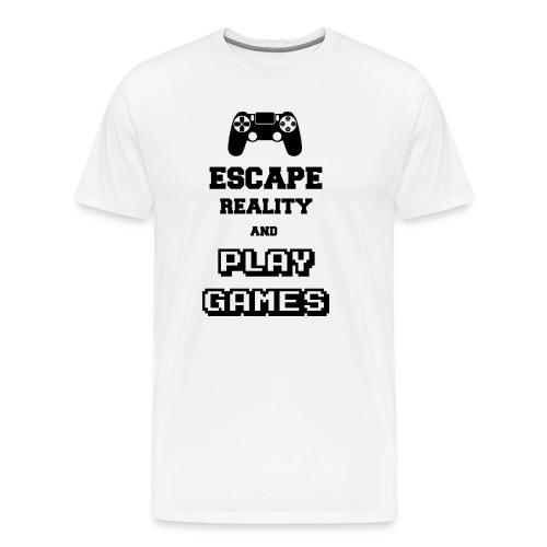 Play Games - T-shirt Premium Homme
