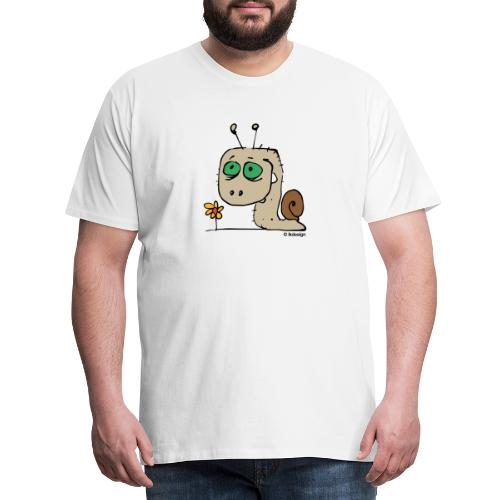 Schnecky - Männer Premium T-Shirt