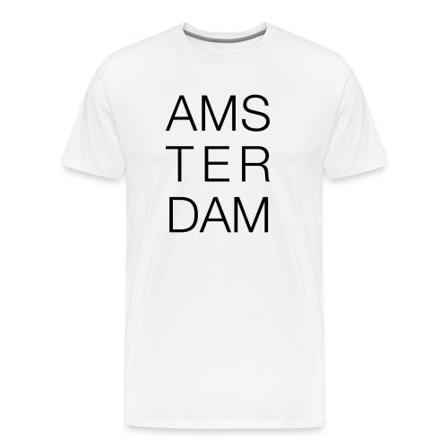AMSTERDAM - Herre premium T-shirt