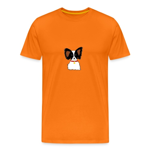 Papillon dog - Men's Premium T-Shirt