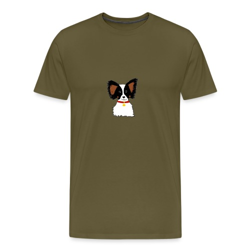 Papillon dog - Men's Premium T-Shirt