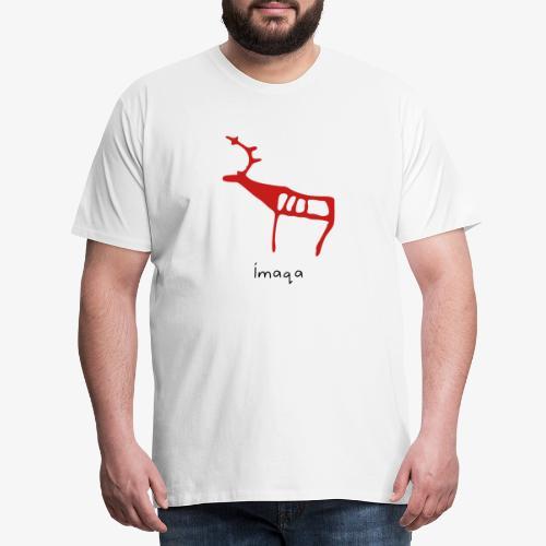 imaqa renne - T-shirt Premium Homme