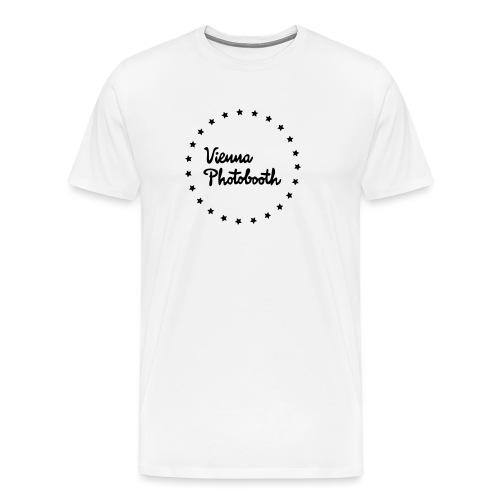Vienna Photobooth Logo - Männer Premium T-Shirt