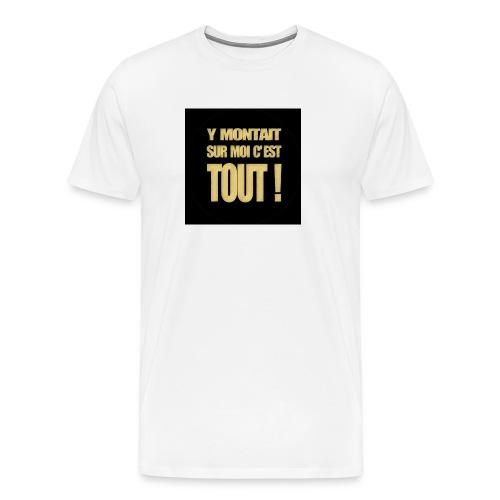 badgemontaitsurmoi - T-shirt Premium Homme