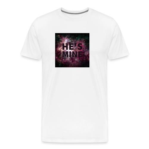 He's mine - Herre premium T-shirt