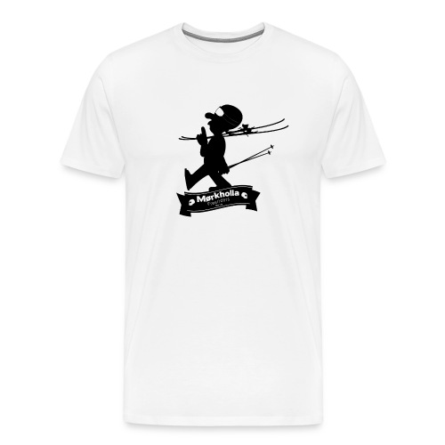 Mørkholla freeriders - Premium T-skjorte for menn