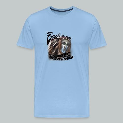 progress2 - Mannen Premium T-shirt