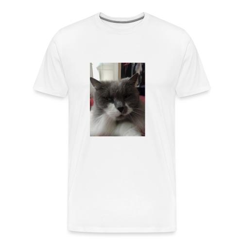 Moody cat - Men's Premium T-Shirt