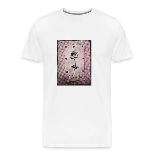 Love Blossom - Men's Premium T-Shirt