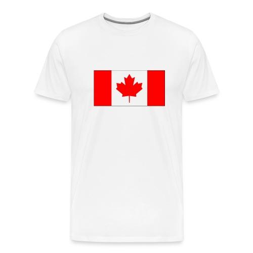 Kanada Fahne - Männer Premium T-Shirt
