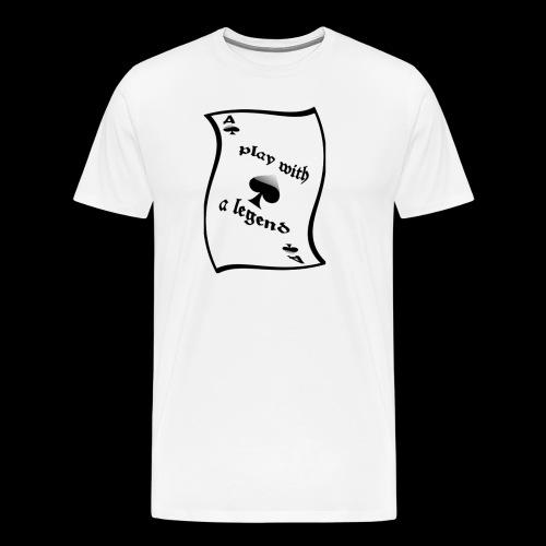 Legend ace of spade - Legend As de pique - T-shirt Premium Homme