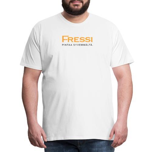 Pintaa syvemmältä - Miesten premium t-paita
