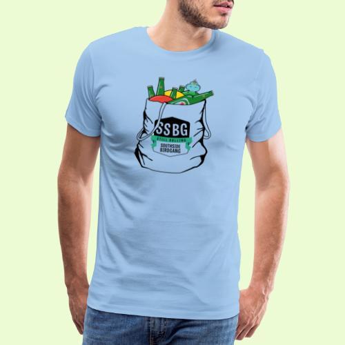 SSBG STARTER BAG - Miesten premium t-paita